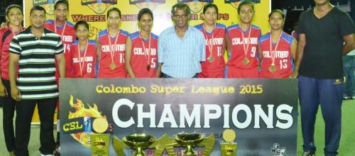 Colombo BC  Complete A Unique Hatrick Of Wins