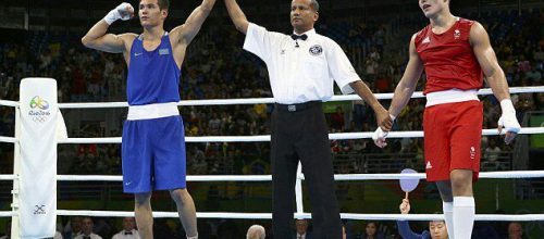 Udeni Kiridena Officiates In Olympics