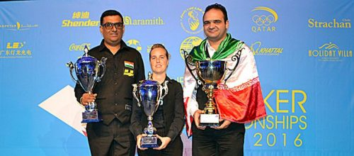 42nd  World Amateur Snooker Championship 2016  Results