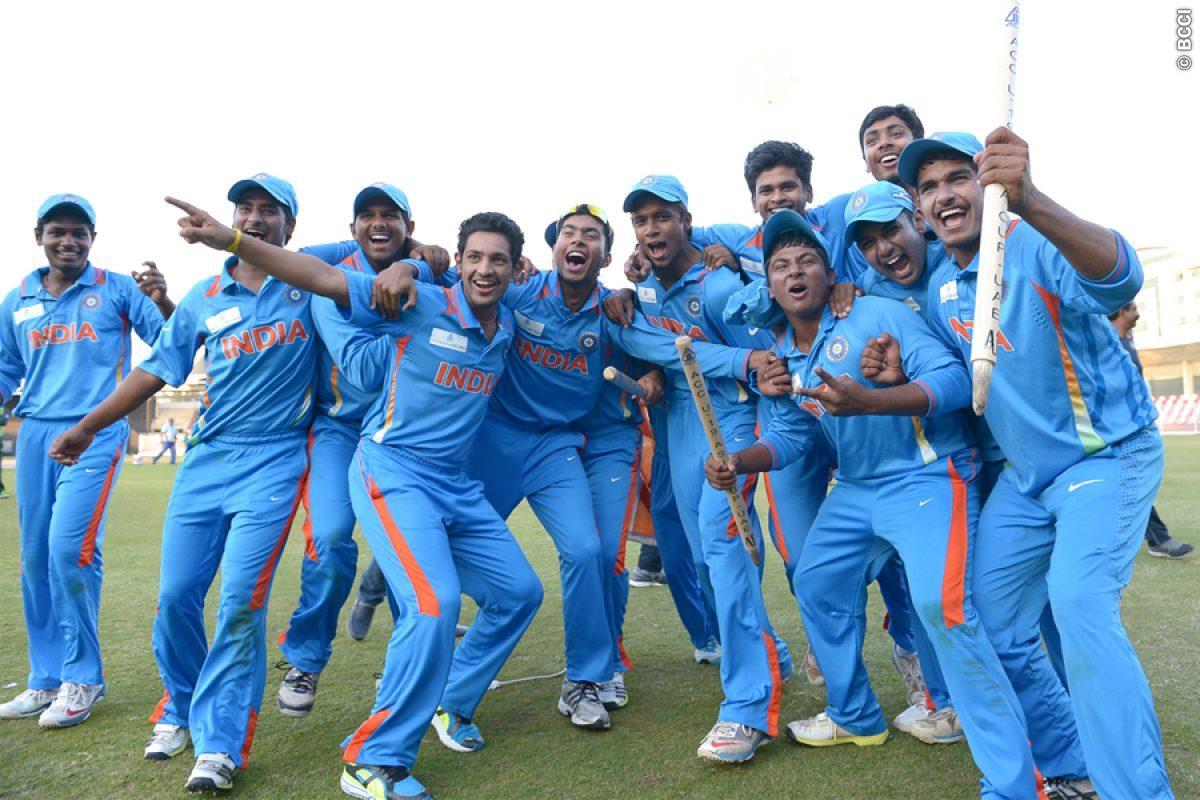 Cricket Indian Team Images: India Under 19 Beat Sri Lanka Under 19 By 34 Runs