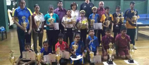 Domestic Table Tennis Results