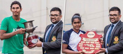 Ramudi Samarakoon  &  Kyle Abeysinghe  Win Best Performers Awards