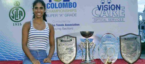 Anika Seneviratne Wins A Triple Crown