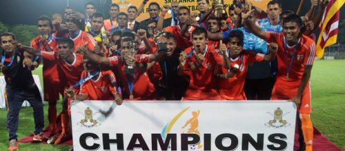 Gemunu Watch Win Inter Regimental Soccer Championship