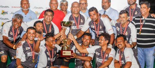 Uva Rhinos win inaugural Signature Masters Hockey League