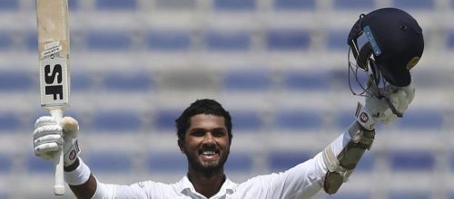 Dinesh Chandimal Anchors Sri Lanka