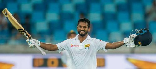 Dimuth & Dinesh Consolidate Sri Lanka Innings