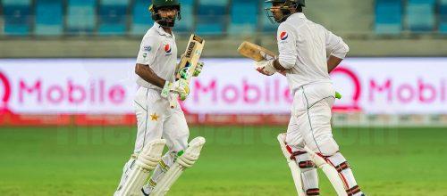 Record Partnership Gives Pakistan The Edge