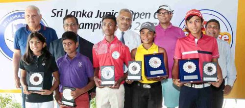 Taniya & Vinod Are Sri Lanka Junior Golf Champions