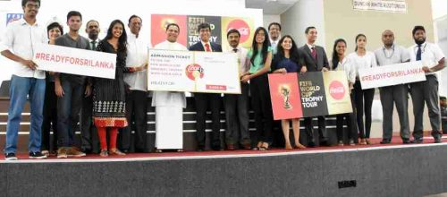 HISTORIC FIFA WORLD CUP TROPHY TOUR TO ARRIVE IN SRI LANKA