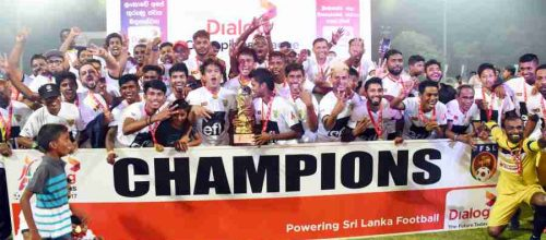 Colombo FC Are Champions