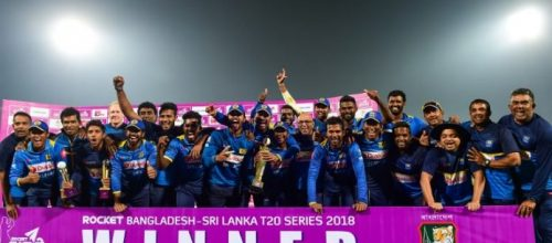 Sri Lanka  beat  Bangladesh  by  75  runs to win the  02  match series  2 – 0