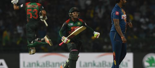 Bangladesh beat Sri Lanka by 05 wickets in a record breaking run chase