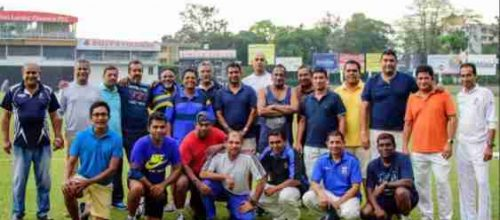Battle of the Blues in Colombo Masters Meet At Cricket