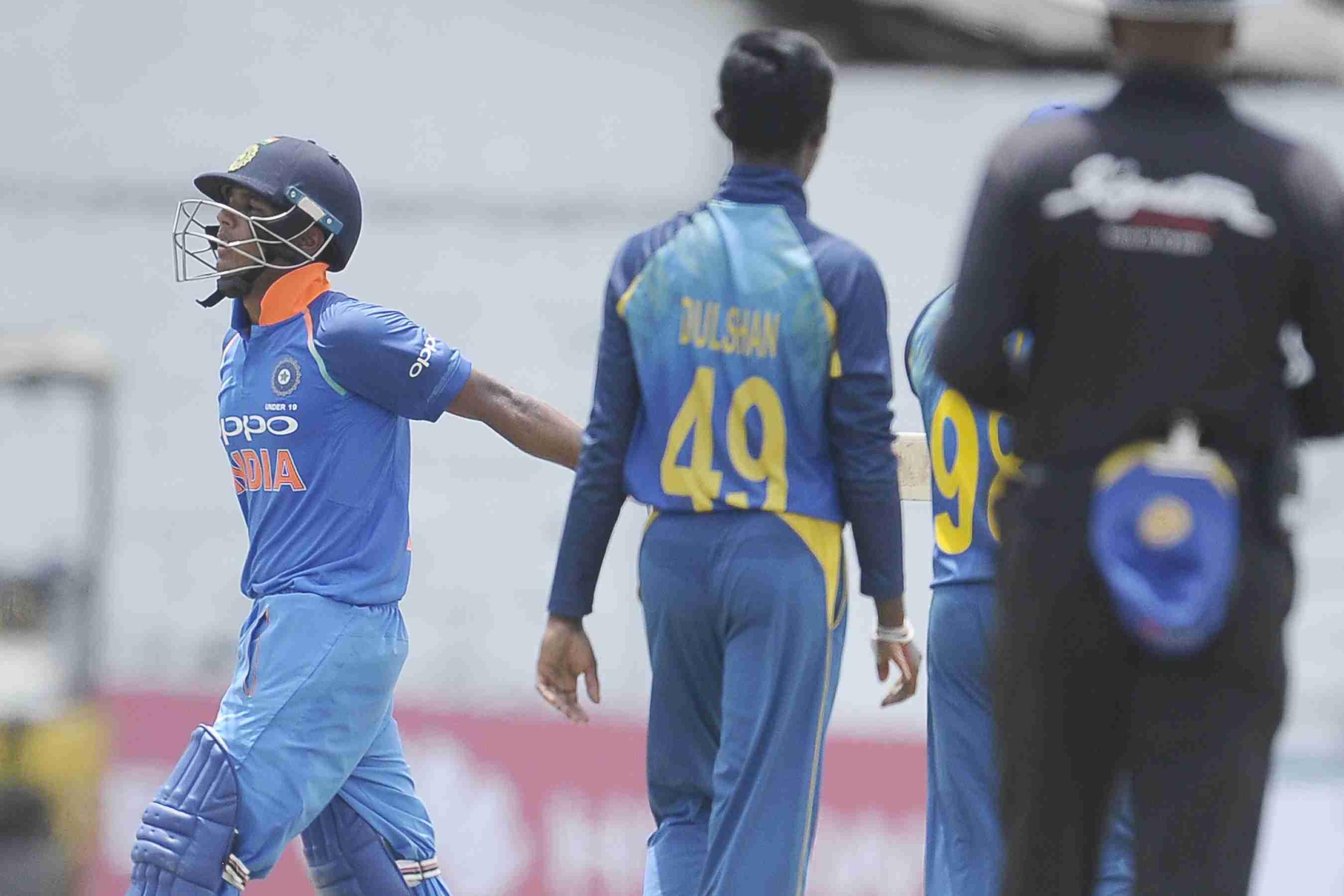 India Under 19 Beat Sri Lanka Under 19 By 135 Runs To